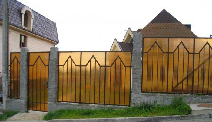 Забор из поликарбоната Магнитогорск