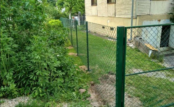 Забор из сетки Рабица Магнитогорск